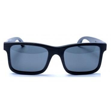Carver - Black Bamboo Sunglasses